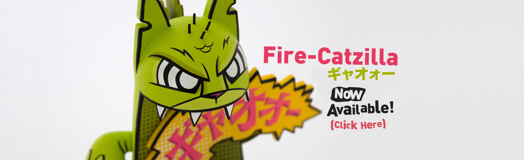 loading Fire-Catzilla now available banner